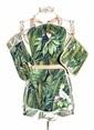 The Mia Tropic Toucan 3lü Set - Önlük Eldiven Tutaç Renkli